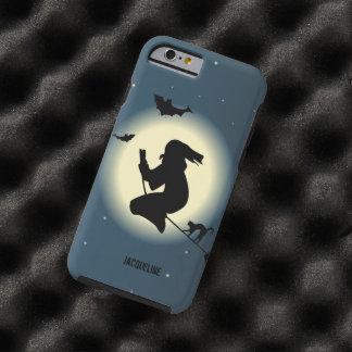 De leuke Heks van Halloween in Actie Tough iPhone 6 Case