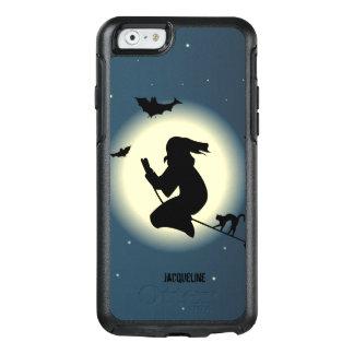 De leuke Heks van Halloween in Actie OtterBox iPhone 6/6s Hoesje
