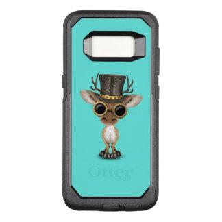 De leuke Herten van het Baby Steampunk OtterBox Commuter Samsung Galaxy S8 Hoesje
