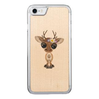De leuke Hippie van de Herten van het Baby Carved iPhone 7 Hoesje