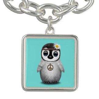 De leuke Hippie van de Pinguïn van het Baby Bedel Armband