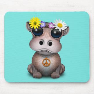 De leuke Hippie van Hippo van het Baby Muismatten