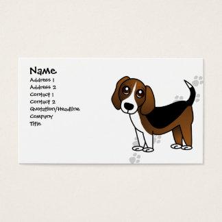 De leuke Hond van de Cartoon van de Brak Visitekaartjes