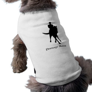 De Leuke Hond van de Mascotte van de dressuur T-shirt
