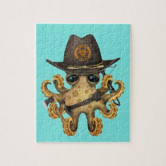 De leuke Jager van de Zombie van de Octopus van Puzzels