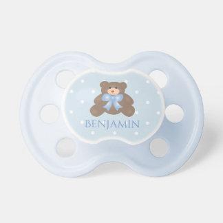 De leuke Jongen van het Baby van de Teddybeer van Fopspeentjes