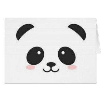 De leuke Kaart van de Panda