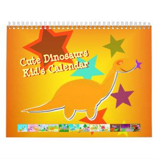 De leuke Kalender van de Dinosaurussen van de
