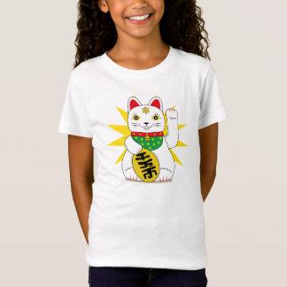 De leuke Kat van het Geluk van Maneki Neko Japanse T Shirt