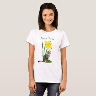 De leuke Kat van Pasen en de Witte T-shirt van