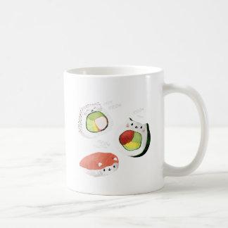 De leuke Kat van Sushi Koffiemok