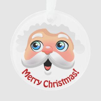 De leuke Kerstman met Uw Aangepaste Groeten Ornament