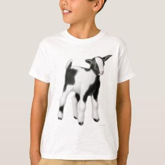 De leuke Kinder T-shirt van de Geit van het Baby