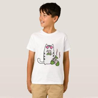 De leuke Kinder T-shirt van het Kat