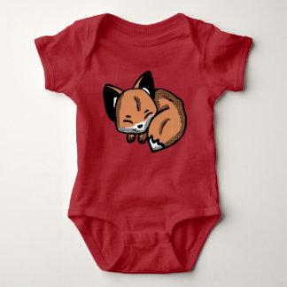De leuke kleren van het Baby van de Vos van de Romper