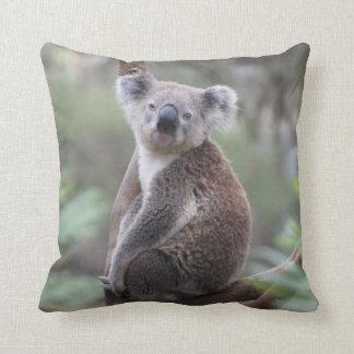 De leuke Koala in een Dier van de Boom werpt Sierkussen