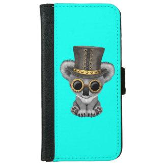 De leuke Koala van het Baby Steampunk iPhone 5 Portefeuille Hoesje
