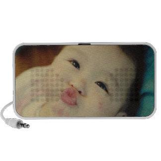 De leuke Krabbel van de Kus iPod Luidspreker