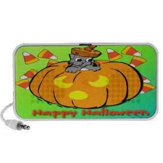 De leuke Krabbel van de Pompoen van Halloween van  Reis Speaker
