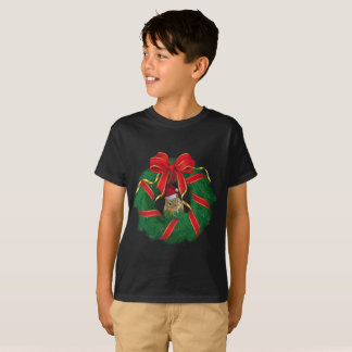 De leuke Kroon van Kerstmis van de Aardeekhoorn T Shirt