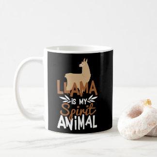 De leuke Lama is Mijn Dierlijke Druk van de Geest Koffiemok