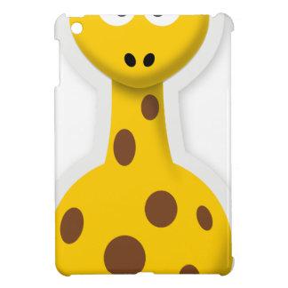 De leuke lange dieren van de girafdierentuin iPad mini hoesje
