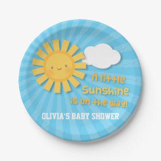 De leuke Levering van Weinig Baby shower van de Papieren Bordje