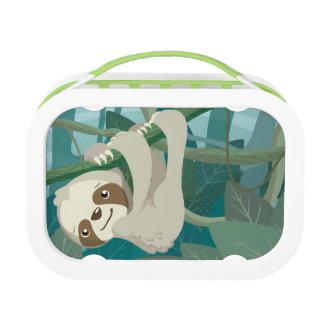 De leuke Luiaard van het Baby op een Tak Lunchbox