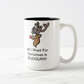 De leuke Mok van Kerstmis voor de Jagers van