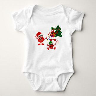 De leuke Monsters van Kerstmis van de Vakantie Romper