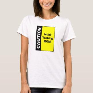 De leuke Multi het Belasten Voorzichtigheid van T Shirt