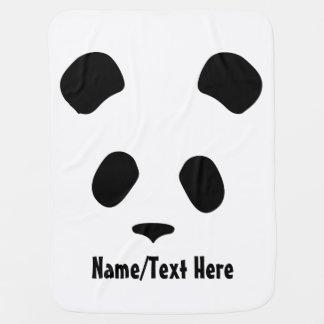 De leuke Naam van het Gezicht van de Panda past Inbakerdoek
