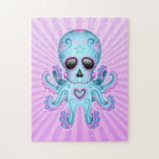 De leuke Octopus van de Zombie van de Schedel van  Legpuzzel