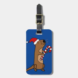 De leuke Otter van het Zee in de Cartoon van Kofferlabel