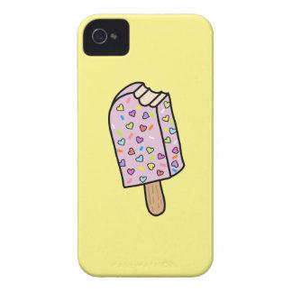 De leuke overhemden van de Ijslolly van het hart, iPhone 4 Hoesje