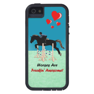 De leuke Paarden zijn Geweldige Freakin Tough Xtreme iPhone 5 Hoesje
