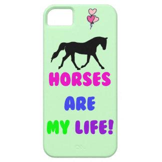De leuke Paarden zijn Mijn iPhone van het Leven 5 Barely There iPhone 5 Hoesje