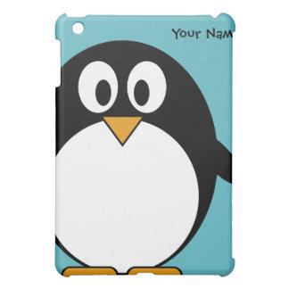 De leuke Pinguïn van de Cartoon Hoesje Voor iPad Mini