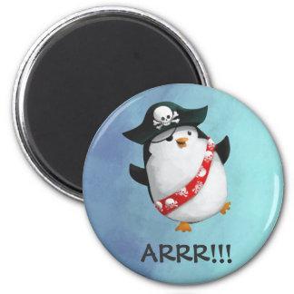 De leuke Pinguïn van de Piraat Magneet