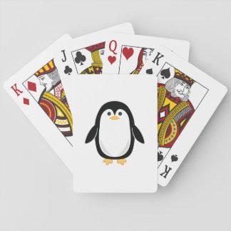 De leuke Pinguïn van het Baby Speelkaarten