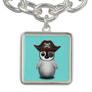 De leuke Piraat van de Pinguïn van het Baby Armbandje