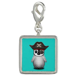 De leuke Piraat van de Pinguïn van het Baby Foto Charm