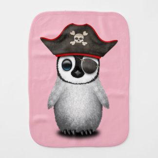 De leuke Piraat van de Pinguïn van het Baby Monddoekje