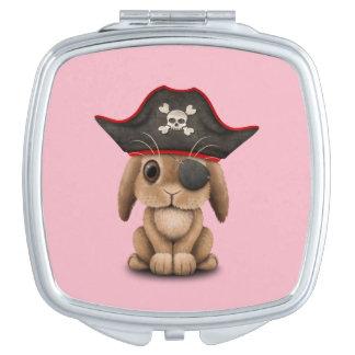 De leuke Piraat van het Konijntje van het Baby Makeup Spiegeltjes