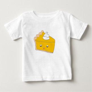 De leuke Plak van de Pastei van de Pompoen Baby T Shirts