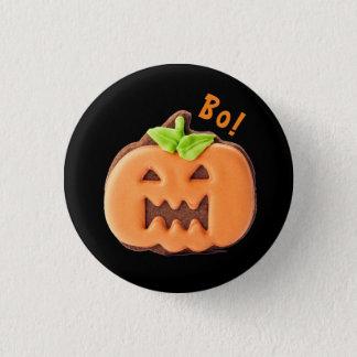 De leuke Pompoen van Halloween Ronde Button 3,2 Cm