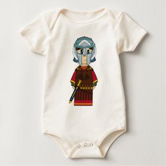 De leuke Roman Klimplant van de Gladiator Baby Shirt