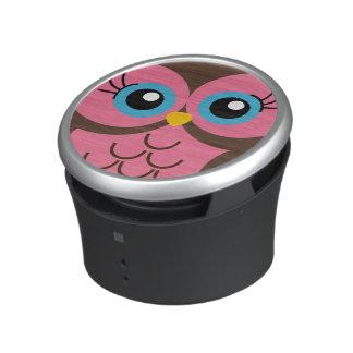 De leuke Roze Spreker van de Uil Bluetooth Speaker