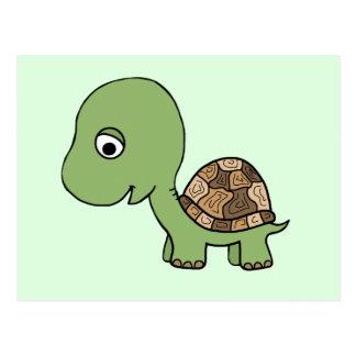 De leuke Schildpad van het Baby Briefkaart