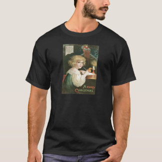 De leuke Schoorsteen van de Brief van de Kerstman T Shirt